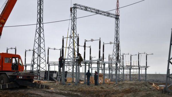 """Строительство ВЛ 220 кВ АО """"РЭС"""""""