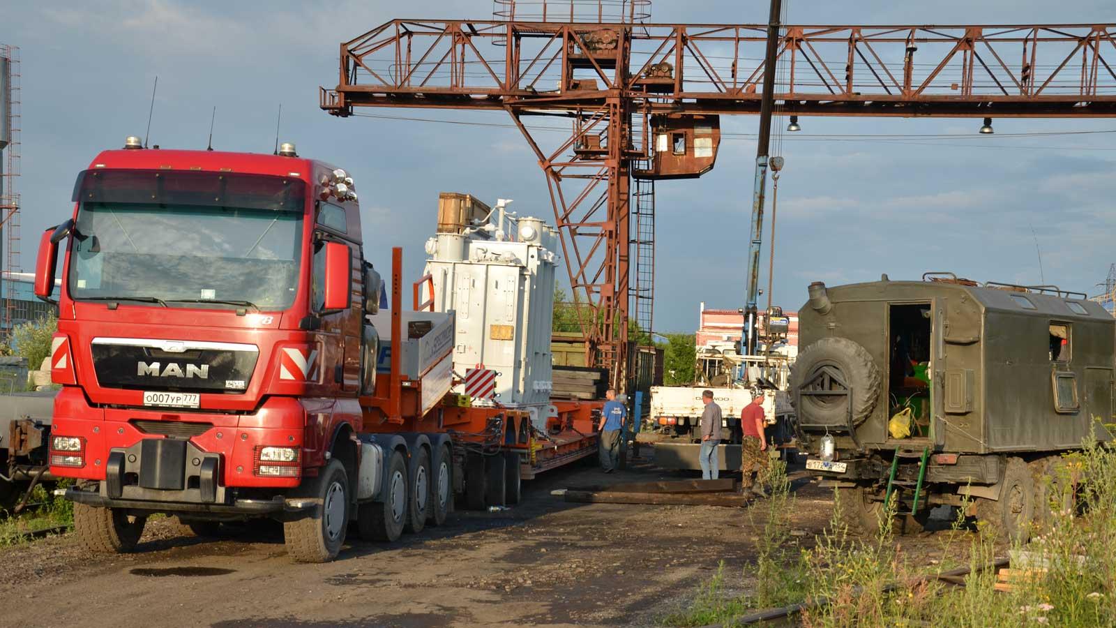 Перевозка сверх тяжёлых грузов до 120 тон включительно